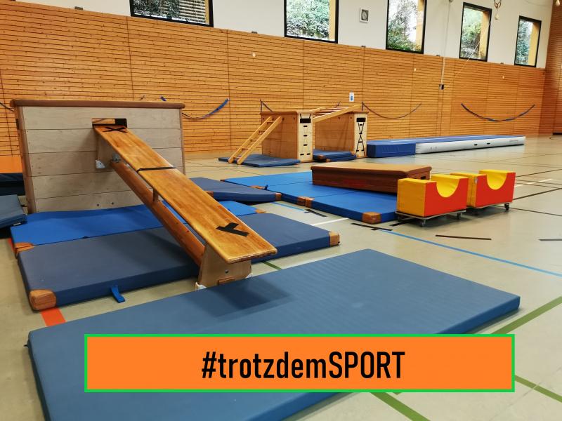 #trotzdemSport-offene Halle