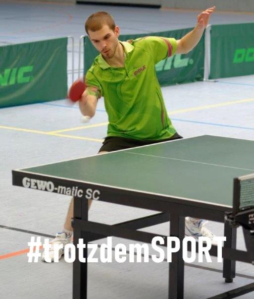 #trotzdemSPORT - Tischtennis