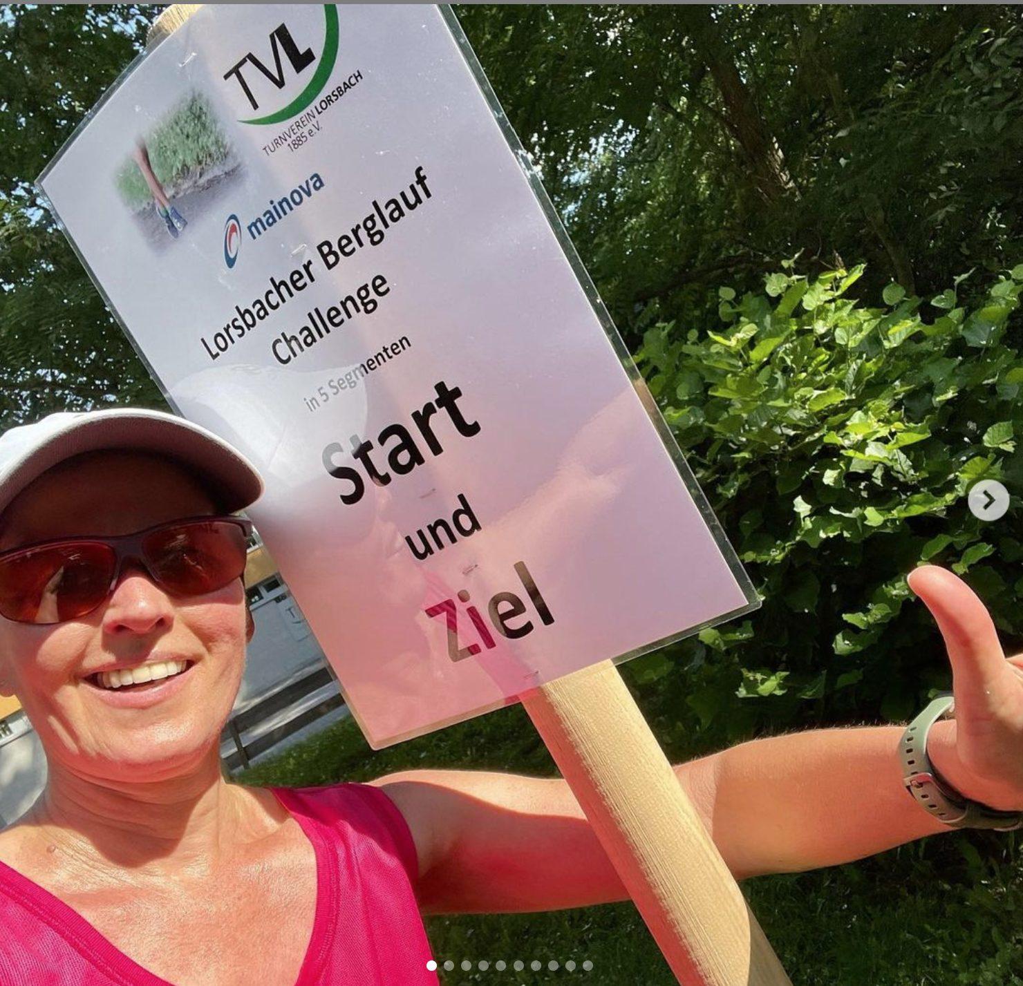Lorsbacher Berglauf Challenge -Start/Ziel